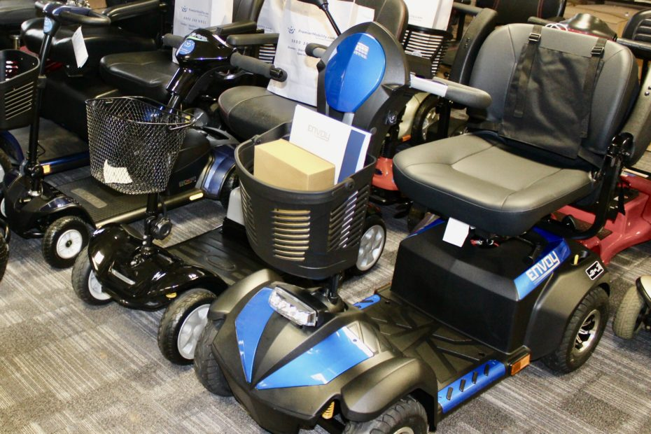 vast range of mobility scooters to choose from