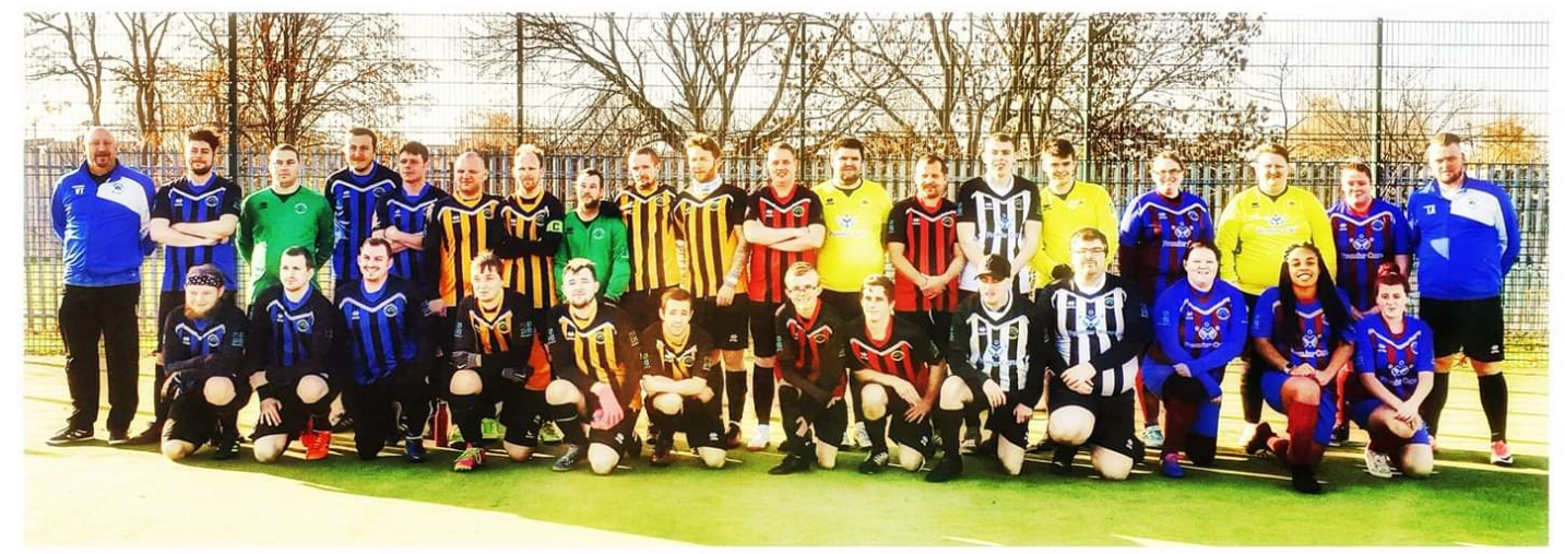 Sherwood Colliery Ability Counts FC Team