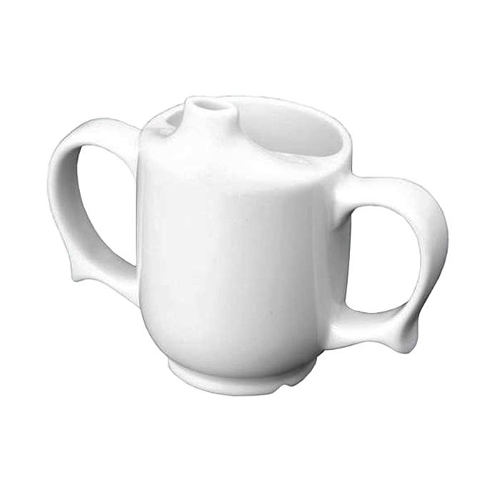 Wade-Dignity-Two-Handled-Feeder-Cup—White